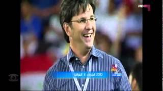 الغرافه 5 - 0 العربي - 2010  - منصة التتويح