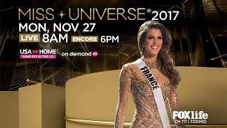 MISS UNIVERSE 2017 l FOX Life Asia Promo
