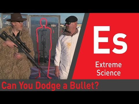 Can You Dodge a Bullet Mythbusters