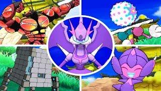 Pokémon Ultra Sun & Ultra Moon - All Ultra Beasts + Signature Moves