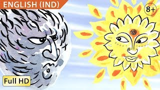 """The Wind and the Sun: Learn English (UK) with subtitles - Story for Children """"BookBox.com"""""""