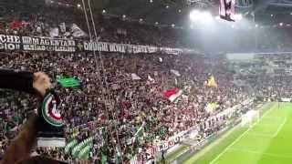 Juventus - Real Madrid 2-1 (Inno e Coreografia 05-05-2015)