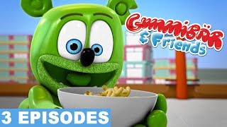 Gummy Bear Show FUN WITH FOOD Gummibar And Friends Compilation