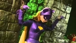Batgirl meets Wonder Woman