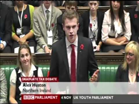 Alex Huston - Make MPs pay for their degrees!
