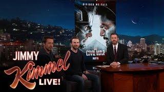 Chris Evans & Robert Downey Jr. Reveal the Poster & Trailer for Captain America: Civil War