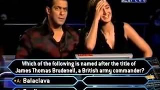 KBC 3 - Katrina & Salman Part 1