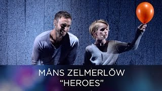 Måns Zelmerlöw - Heroes | Opening act of Eurovision Song Contest 2016 Semi-Final 1