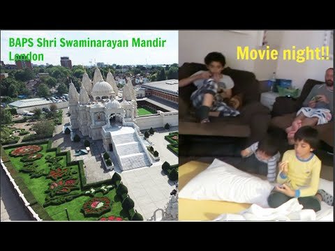 Visiting Hindu's temple, and Movie night with my boys|weekly vlog