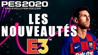 TOUTES LES NOUVEAUTÉS DE PES 2020 !!!