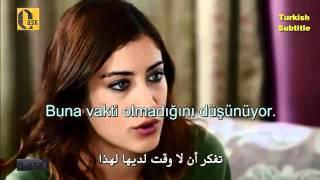 مقطع مترجم عربي + تركي من مسلسل العشق
