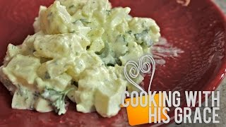 German Potato Salad - Cooking With His Grace