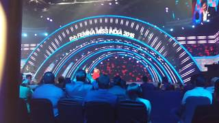 EXCLUSIVE SHAHRUKH KHAN PERFORMANCE ON STAGE OF FBB FEMINA MISS INDIA