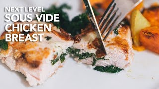 Sous Vide STUFFED CHICKEN BREAST That's Incredibly Juicy