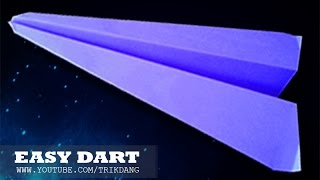Best Paper Planes: How to make a paper airplane that Flies | Dart