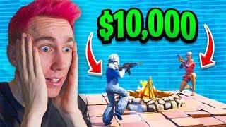 LAST ALIVE ON FORTNITE WINS $10,000