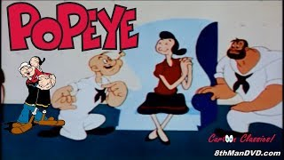 POPEYE THE SAILOR MAN: Nearlyweds (1956) (Remastered) (HD 1080p)