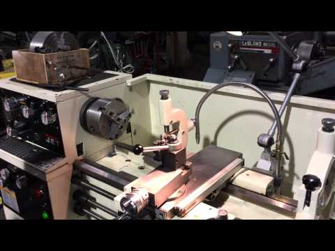 13 18 X 40 JET REMOVABLE GAP BED ENGINE LATHE