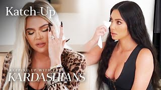"""Tristan Thompson Tries To Kiss Khloé & Kim Gets Tested For Lupus: """"KUWTK"""" Katch-Up (S17, Ep1) 