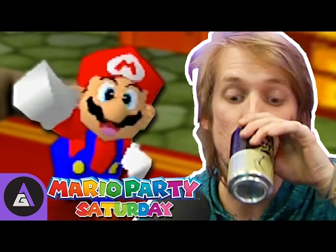 The More You Drink The Better You Get? - Mario Party 3   Mario Party Saturday