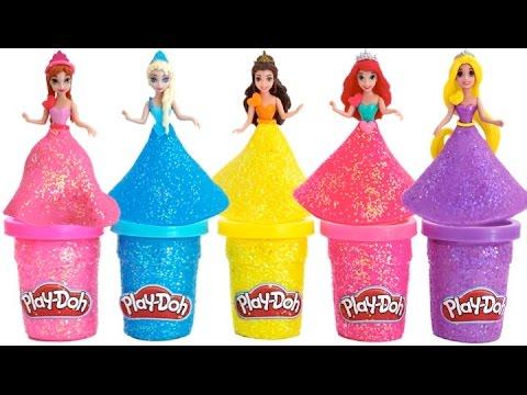 Xxx Mp4 Play Doh Sparkle Disney Princess Dresses Ariel Elsa Belle Magiclip Blind Bags RainbowLearning 3gp Sex