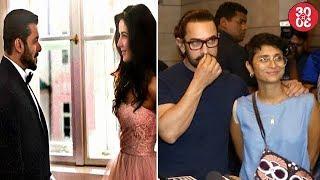 Salman Katrina Wrap Tzhs Final Song Shoot Aamir Throws Secret Superstars Success Party