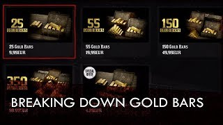 Red Dead Online: Breaking Down The Gold Bar Microtransations