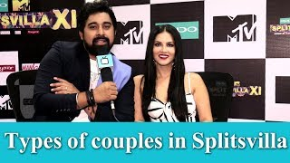 Rannvijay & Sunny revels different types of couples in Splitsvilla | Exclusive | TellyChakkar