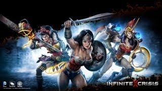 Infinite Crisis Atomic wonder woman - découverte let's play en FR et HD