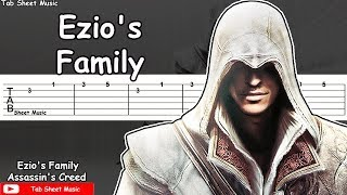 Assassin's Creed 2 - Ezio's Family Guitar Tutorial