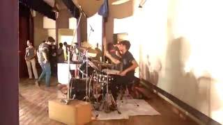 Dil Se Re A R Rahman Drum Cam Rock Version Covered By Octavium Live At Kjsce Freshers 2016