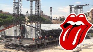 The Rolling Stones Concerto Roma Circo Massimo - Montaggio 2014