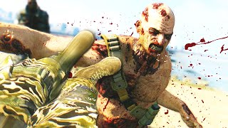 HOW TO FLYING KICK A ZOMBIE! (Dying Light The Following)