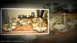Baal Bhog Maha Prasad Offered In Mangal Aarti 22 January 2016 ISKCON Juhu Mumbai