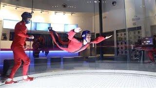 Indoor Skydiving: Human Flight, No Plane Required
