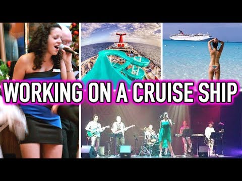 LIFE AS A CRUISE SHIP SINGER » Working For Carnival Cruise Lines » My Story