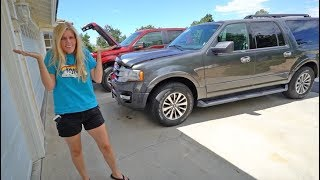 WE HAD TO GET ANOTHER CAR!!