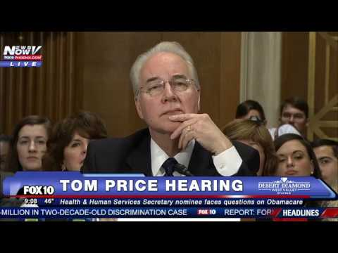 HEATED Bernie Sanders TAKES ON Tom Price at Hearing Is Healthcare a Right for ALL Americans FNN