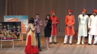 Russia Rajasthani Manch Performance on 27/8/2016 at Gala Concert