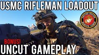 USMC Rifleman Airsoft Loadout from Milsim West: Seize Grozny   Bonus Uncut Gameplay