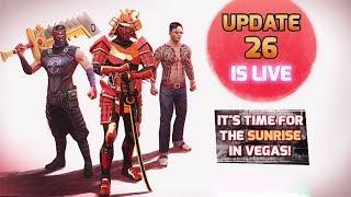 Gangstar Vegas Update 26 (Ninja Suit, The Royal Cutter, Hillbilly Hellfire, Plague Pistol)