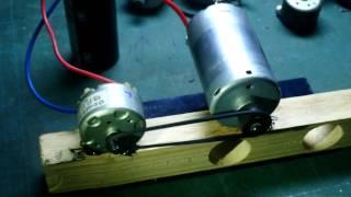Motor Generator มอเตอร์ปั่นไฟ DC พลังงานหมุนเวียน อัจฉริยะ EP.1