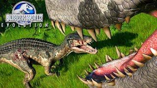 Jurassic World Evolution - Sempre Tem Um Predador MAIOR!, Olorotitan No Parque | (#32) (PT-BR)