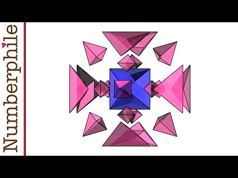 Perfect Shapes in Higher Dimensions Numberphile