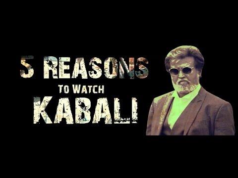 5 Reasons To Watch Rajinikanth's Kabali