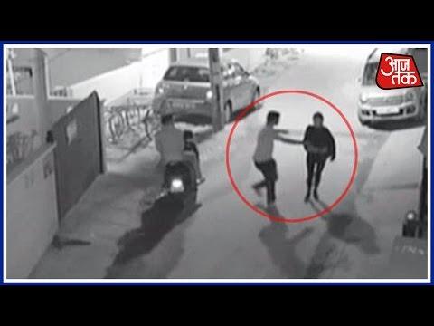 CCTV footage shows girl molested on Bengaluru street