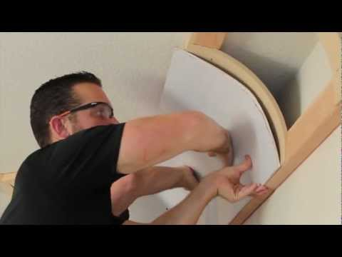 Universal Cove Ceiling Kit How to install and drywall