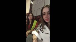 Nadia Gul and neelam gul live from doha qatar 21/12/2017