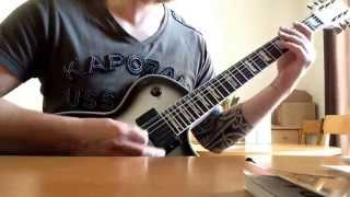 Hellyeah - Pole Rider ( Guitar Cover )