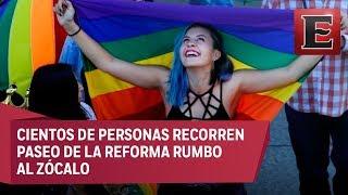 Transcurre con tranquilidad marcha lésbico-gay en la CDMX